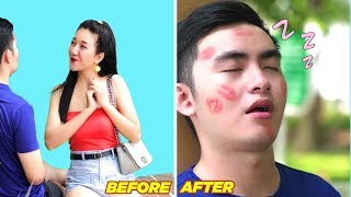 Girl DIY! BEST FUNNY PRANKS ON FRIENDS | Try Not To Laugh with Top Funny Fails #10