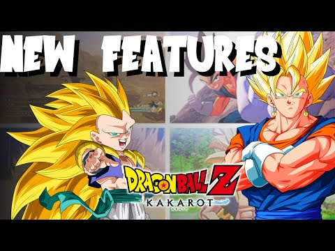 NEW FEATURES CONFIRMED: Dragon Ball Z Kakarot  