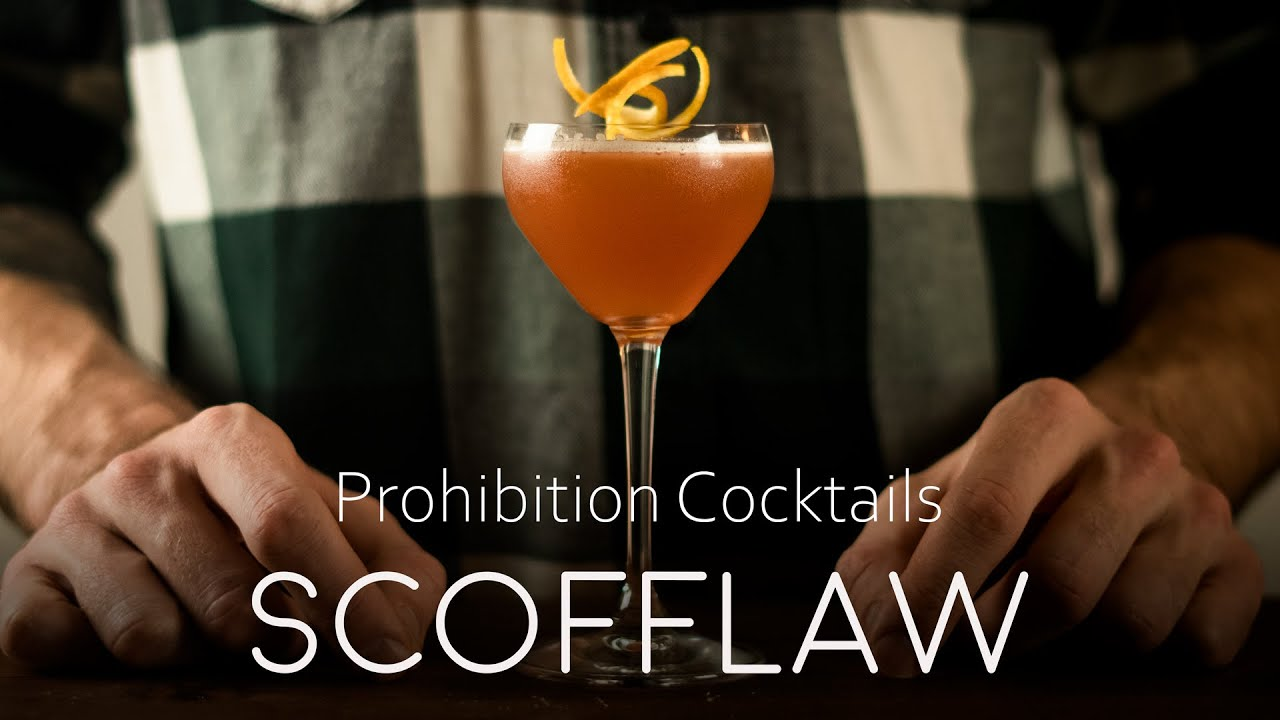 The Scofflaw - Prohibition Cocktail
