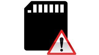 Réparation d'une carte SD /Micro SD