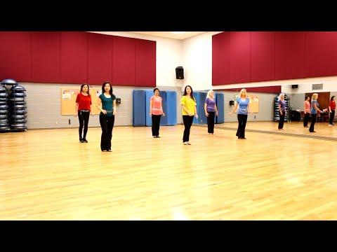 Tension - Line Dance (Dance & Teach in English & 中文)