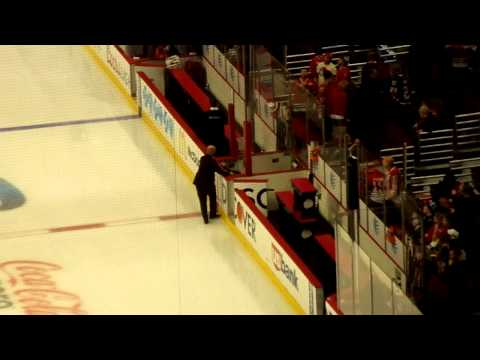 Pierre McGuire Climbs Over the Boards