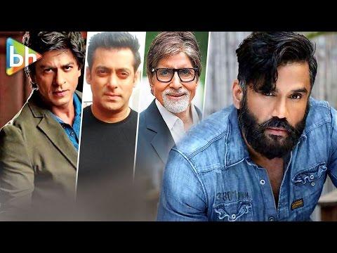 Suniel Shetty talks about Shah Rukh Khan | Salman Khan | Amitabh Bachchan in You Tweet Celebs Reply