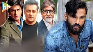 Video Suniel Shetty talks about Shah Rukh Khan | Salman Khan | Amitabh Bachchan in You Tweet Celebs Reply download MP3, 3GP, MP4, WEBM, AVI, FLV Juni 2018
