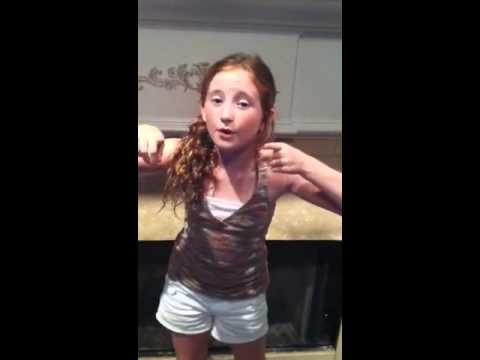 9 year old Lauren Mask sings Happy Birthday to you the Christina A Way!