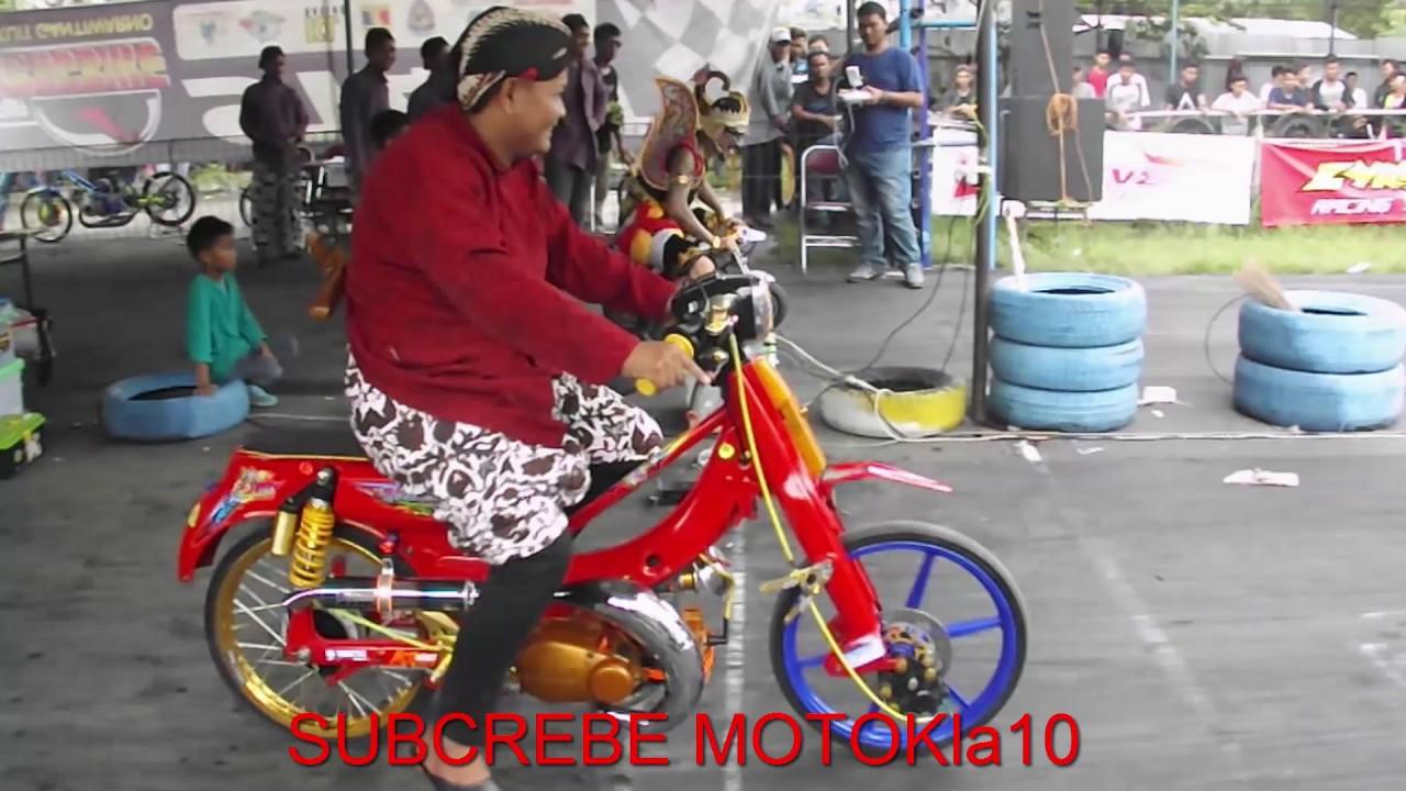 Mini Drag Race Umur 5 Tahun Dan Mini Drag Race Gatotkaca vs Yamaha