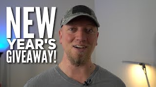Happy New Year! BIG TECH GIVEAWAY!