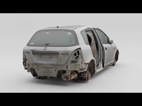 Honda Civic 3D Scan. Photogrammetry. RealityCapture