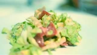 как приготовить салат с пекинской капусты (диетический)