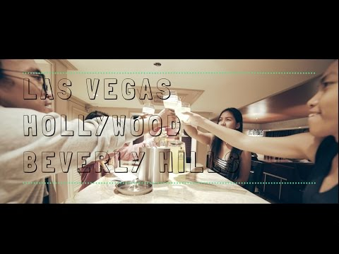 Friends Travel Log - Las Vegas | Hollywood | Beverly Hills