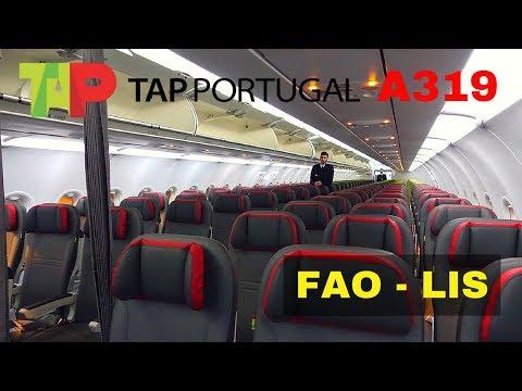 FLIGHT REPORT | TAP AIRBUS A319 | FARO - LISBON