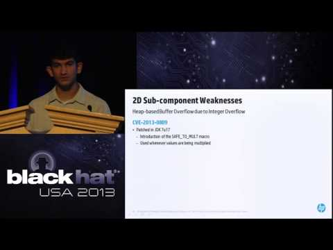 Black Hat USA 2013 - Java Every-Days: Exploiting Software Running on 3 Billion Devices