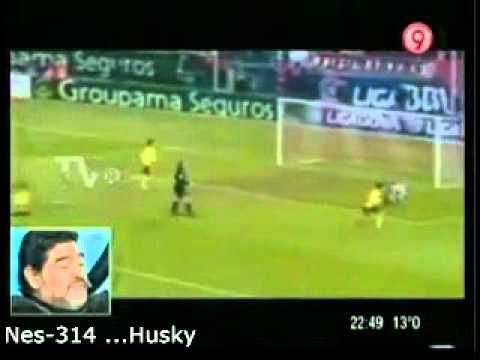 Messi y Maradona -