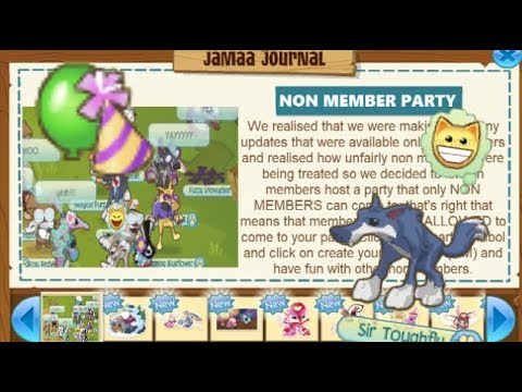 If There Was A Non Member Only Party In Animal Jam