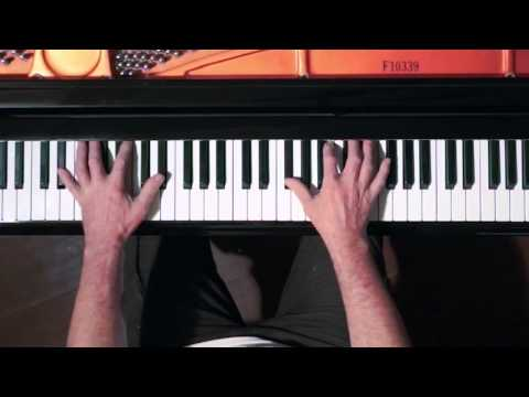 Bach 15 Two-Part Inventions in Overhead Keyboard (dur: 25 min) - P. Barton piano