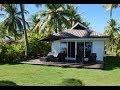 Beach Bungalow - Hotel Room Review (HD) - Lomani Island Resort, Malolo Fiji