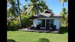 Beach Bungalow   Hotel Room Review (hd)   Lomani Island Resort, Malolo Fiji