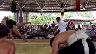 AUS vs RUS Junior Sumo World Championships 2015 Osaka Japan