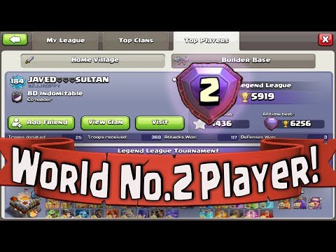 WORLD TOP NO.2 PLAYER ATTACK | QUEEN WALK PEBOWITCH NEW ATTACK Best Attack Strategy In COC (part-2)