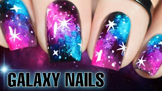 🌌 GALAXY NAIL ART EASY ✨Sheer Nail Polish 'Jelly Shots' by Hit The Bottle (2020)