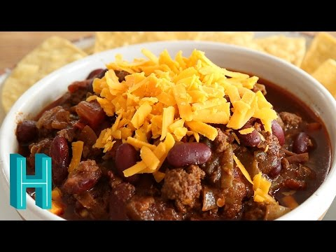How To Make Chili With Beans |  Non-Texas Chili Recipe | Hilah Cooking