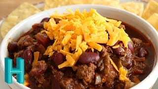 Chili With Beans |  Non-Texas Chili Recipe