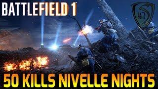 50 KILLS BF1 NIVELL NIGHTS FULL MATCH EA PLAY - SPARTAN117GW