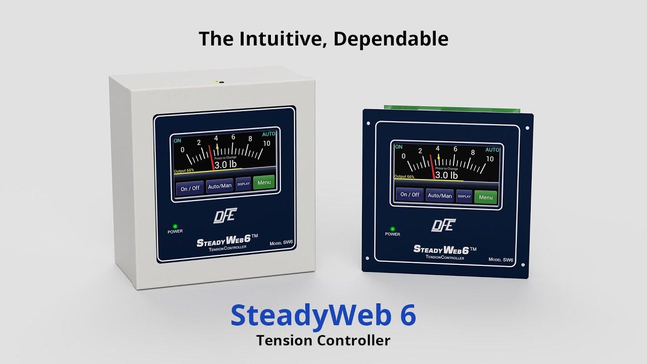 SteadyWeb6™ Digital Tension Controller   Dover Flexo Electronics