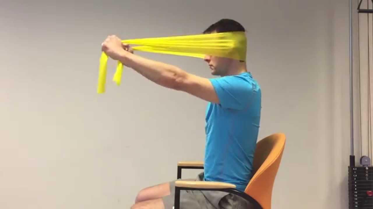 nekspieren trainen