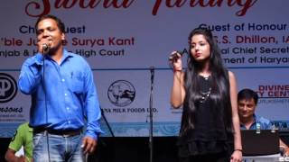bekhudi mein sanam romantic lata rafi duet sung by divya and rajbir