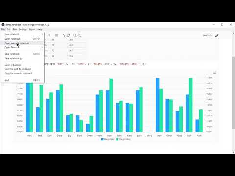 Data-Forge Notebook Product Video