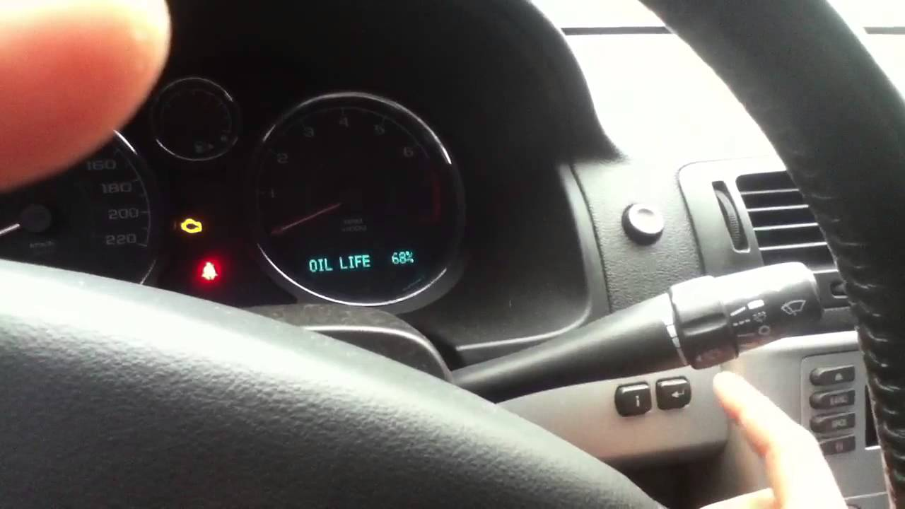 2005 chevy cobalt warning lights
