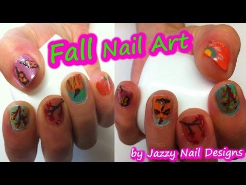 Fall Nails Art Design Cute Nails For The Fall Season No Tools