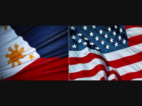 Lupang Hinirang and the Star Spangled Banner