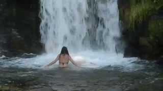 Туризм и отдых в Карпатах(Водопад Каменка - водопад на одноименной реке Каменка, который находится в Сколивскому районе Львовской..., 2014-07-21T06:54:28.000Z)