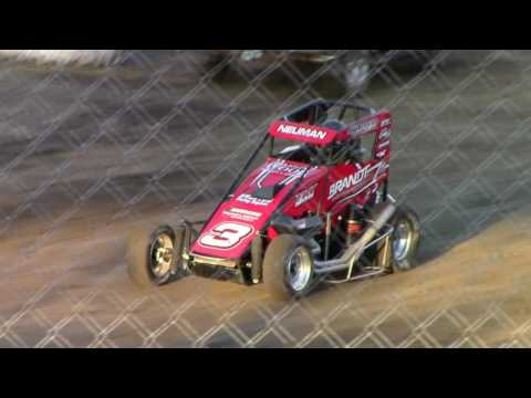 Macon Speedway POWRI Midgets & Micro's and support classes 5 13 2017