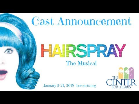 Cast Announcement:  Hairspray the Musical