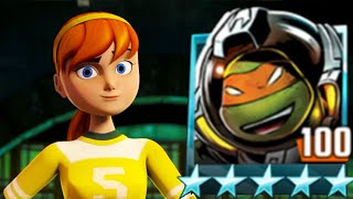 Cosmo Turtle vs. April O'Neill - Teenage Mutant Ninja Turtles Legends