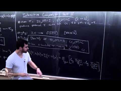 Nexus Trimester - Omri Weinstein (Courant Institute (NYU))  5/6