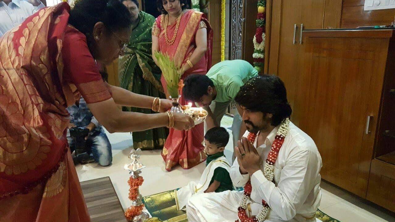 Yash and Radhika Pandit Marriage Pre-Wedding Ceremony Celebrations by  Classy Entertainment Kannada