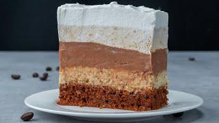 Слишком вкусно чтобы выбрать один из них торт с 4 разными видами крема