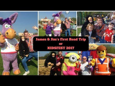 James & Jim's First Road Trip or Kidsfest 2017 | Animal Farm Adventure Park