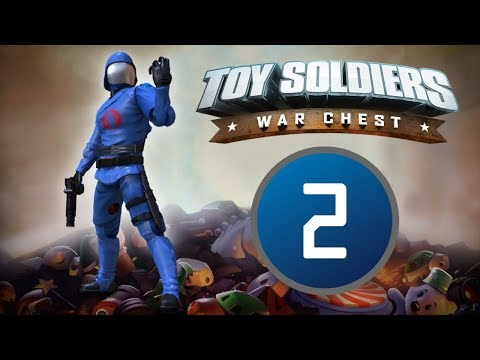 TOY SOLDIERS WAR CHEST - Cobra Campaign - Level 2: Bubble Brook |