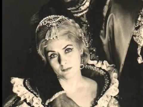 Virginia Zeani as Desdemona in Verdi's Otello