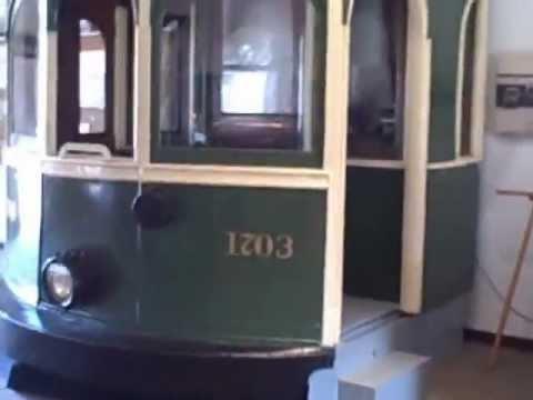 "Exhibit Room at Seashore Trolley Museum "" Before"" clip 4-26-09"