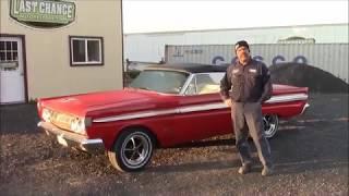 1964 Mercury Comet Convertible, Repair Update,  lastchanceautorestore com