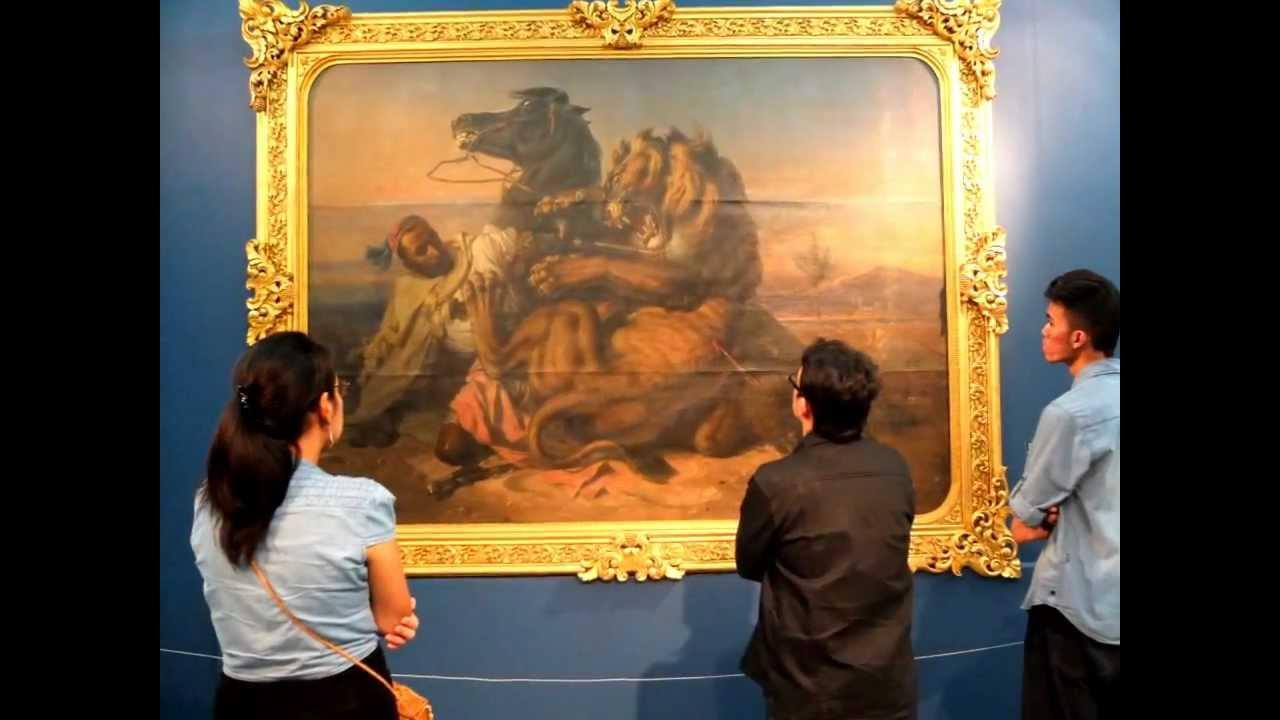 Pameran Sang Maestro Raden Saleh dan Seni Lukis Modern ...