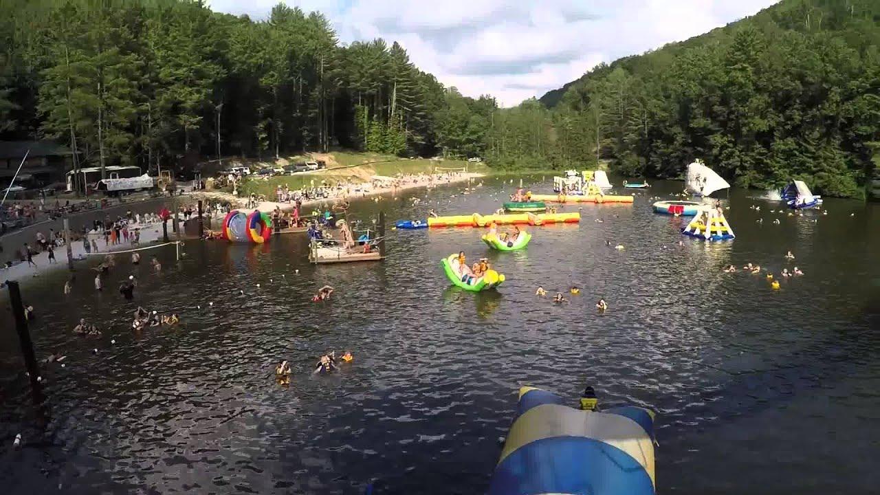 Blob At Ace Adventure Resort In West Virginia Youtube
