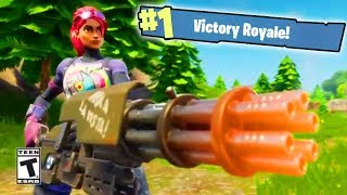 NEW MINIGUN UPDATE OUT NOW!!! // Top Fortnite Player 9,000+ Kills // Fortnite: Battle Royale