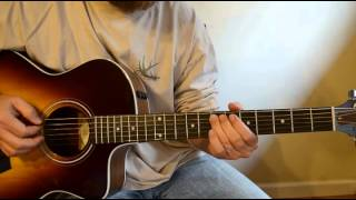 David Crowder Acoustic Lesson - Open Skies
